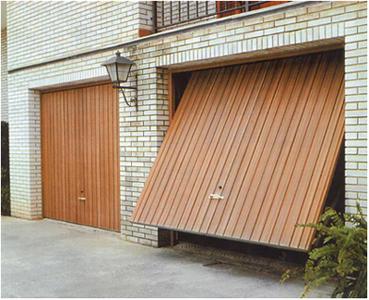 Puerta basculante for Puertas baratas bricomart